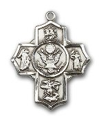 Army 5-Way Cross, SS, SN 24''