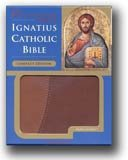 Ignatius Catholic RSV Compact Ed. Brown and Tan Bible