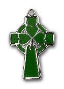 Celtic Cross, Green, SS, SS 18''