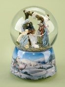 Nativity with Canopy Waterglobe
