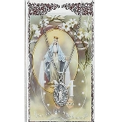 Our Lady of the Miraculous Medal and Prayer Card