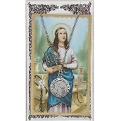 St. Cecilia Medal and Prayer Card