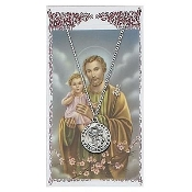 St. Joseph Medal and Prayer Card