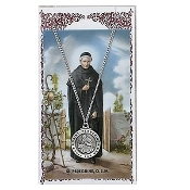 St. Peregrine Medal and Prayer Card