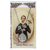 St. Gerard Medal and Prayer Card
