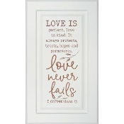 Love is Door Wall Art
