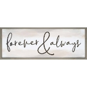 Forever Carved Wall Art