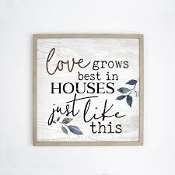 Love Grows Carved Wall Art