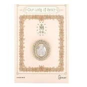 Our Lady of Grace Lapel Pin