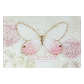 Believe Butterfly Cutting Board