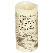 Father Flameless Candle