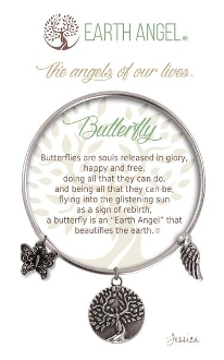 Butterfly Earth Angel Bracelet