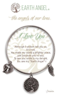 I Love You Earth Angel Bracelet