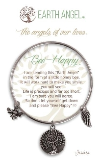 Bee Happy Earth Angel Bracelet