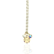 Mini Charm Jumble Believe Necklace