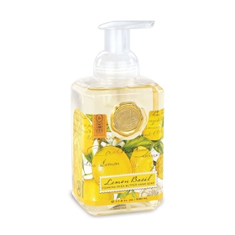 Lemon Basil Foaming Hand Soap by Michel Design Works