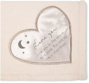 Love You to the Moon Comfort Blanket