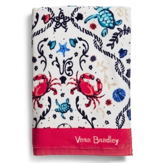 Vera Bradley Beach Towel in Sea Life
