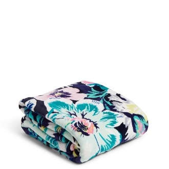 Vera Bradley Plush Throw Blanket in Garden Grove