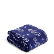 Vera Bradley Plush Throw Blanket in Seahorse of Course