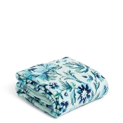 Vera Bradley Plush Throw Blanket in Cloud Vine