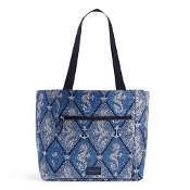 Vera Bradley ReActive Drawstring Family Tote in Seahorse Stamp