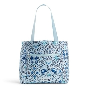 Vera Bradley ReActive Drawstring Family Tote in Mint Sea Life