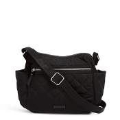 Vera Bradley Iconic On the Go Crossbody in Black Performance Twill