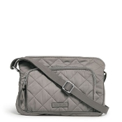 Vera Bradley Icinic RFID Little Hipster in Tranquil Gray Performance Twill