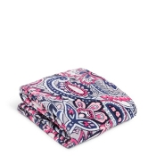 Vera Bradley Plush Throw Blanket in Gramercy Paisley