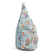 Vera Bradley Sling Backpack in Floating Garden