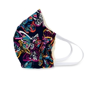 Vera Bradley Face Mask in Butterfly Flutter