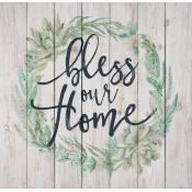 Bless Our Home Pallet Wall Art