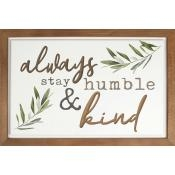 Always Stay Carved Wall Art